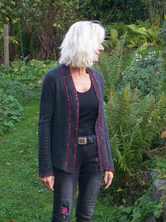 "Strick-Workshop Jacke ""Khatun"" am Sonntag, den 19. November 2017"